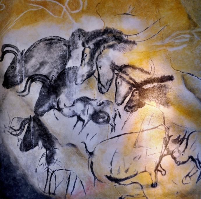 Шедевры пещерной живописи