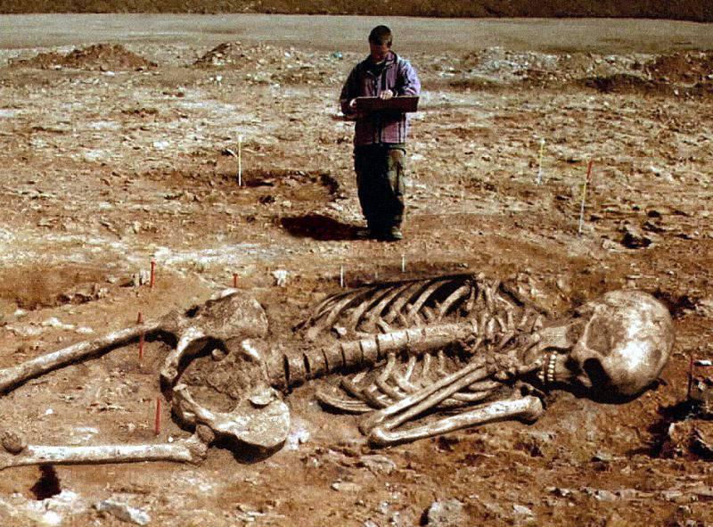Первобытные люди: великаны и карлики