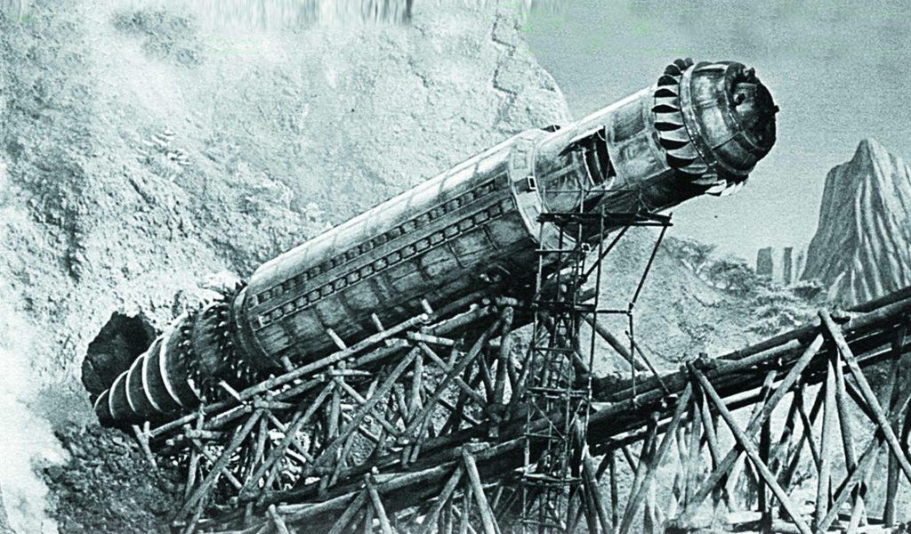 Подземная лодка «Боевой Крот» мог бы достать империалистов из под земли