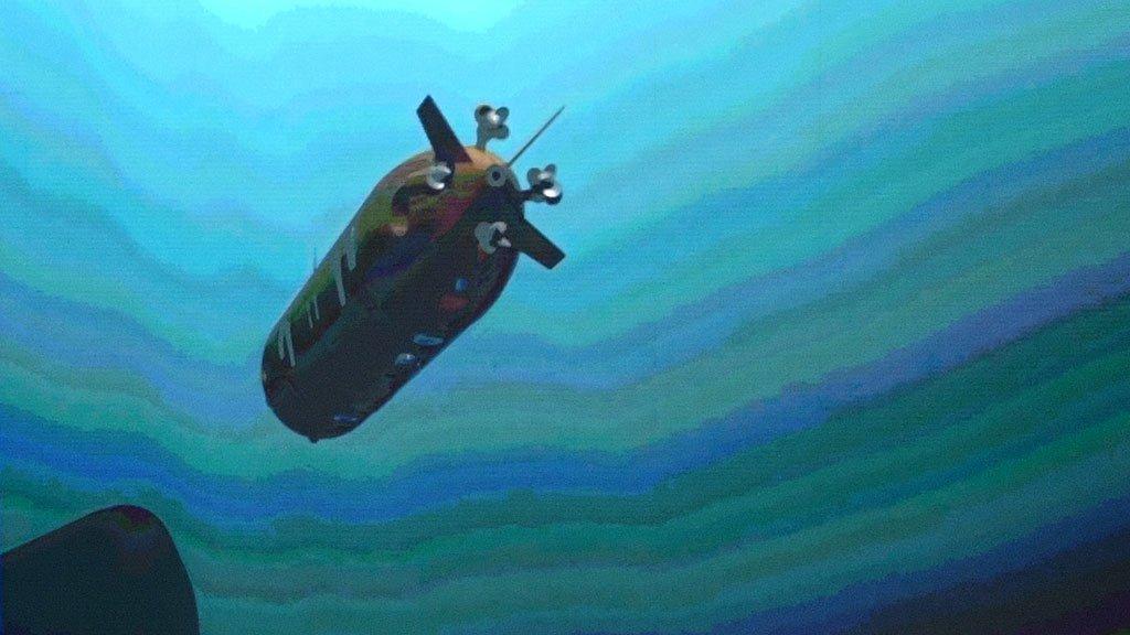 Глубоководный аппарат-беспилотник