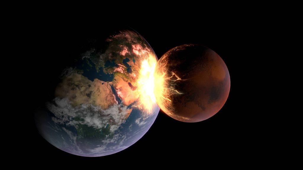 Земля и Марс могут столкнуться!