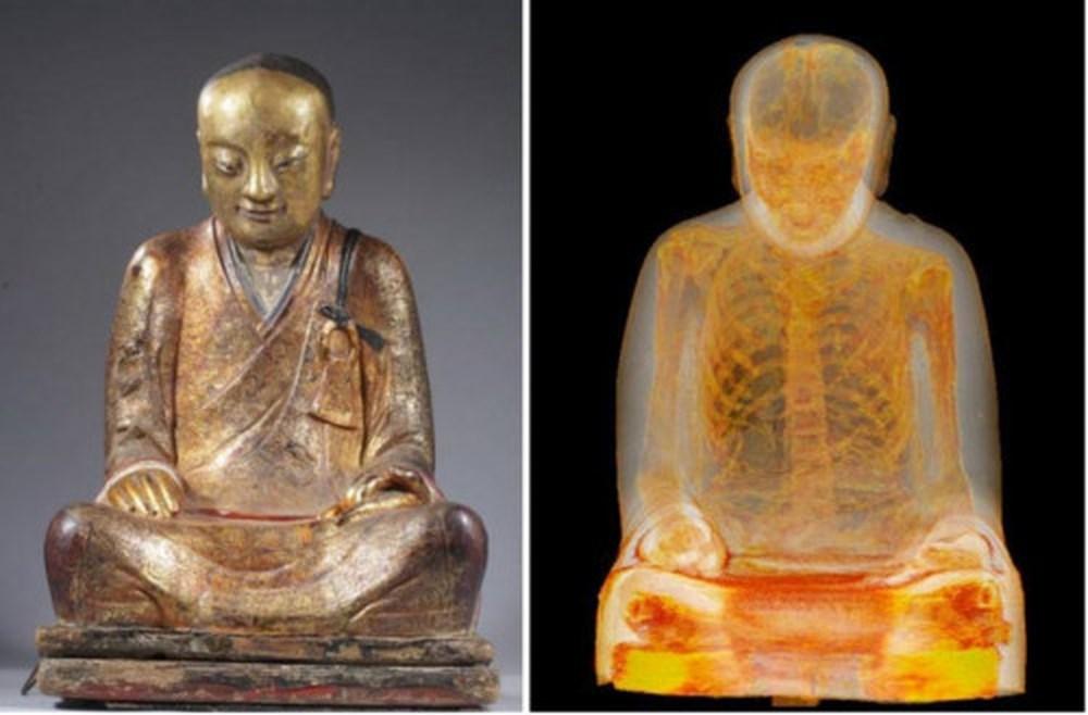 Статуя Будды скрывала в себе мумию монаха