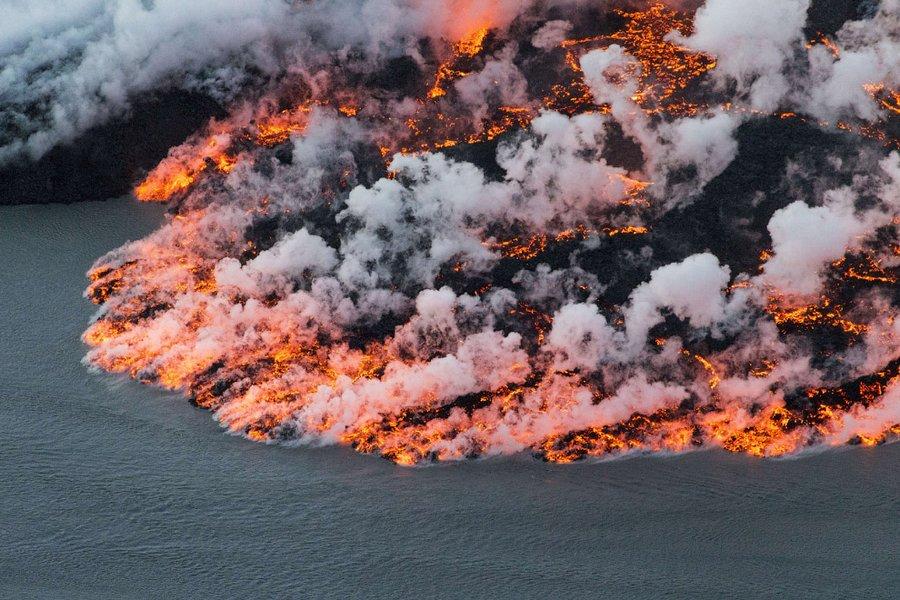 Исландия - страна вулканов
