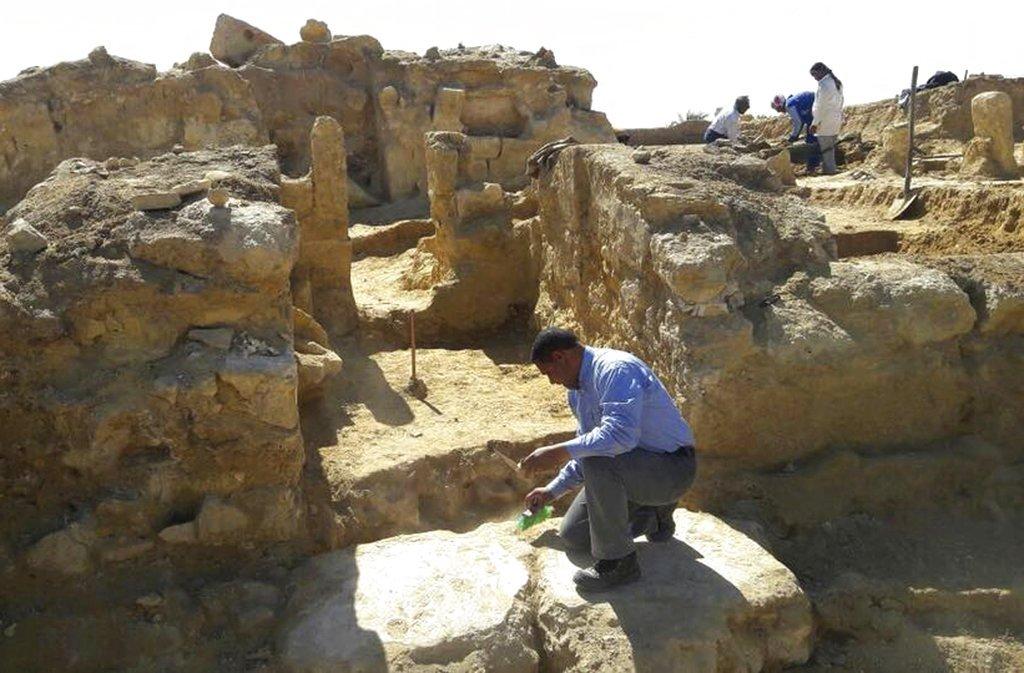 Храм в пустыне