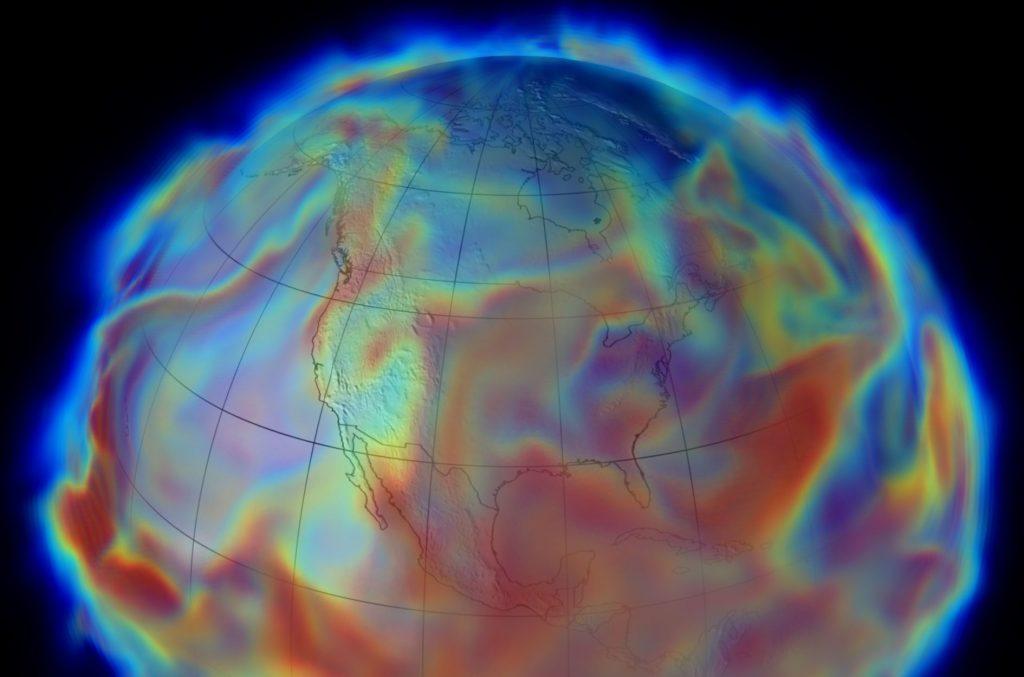 В атмосфере обнаружили «реки» плазмы