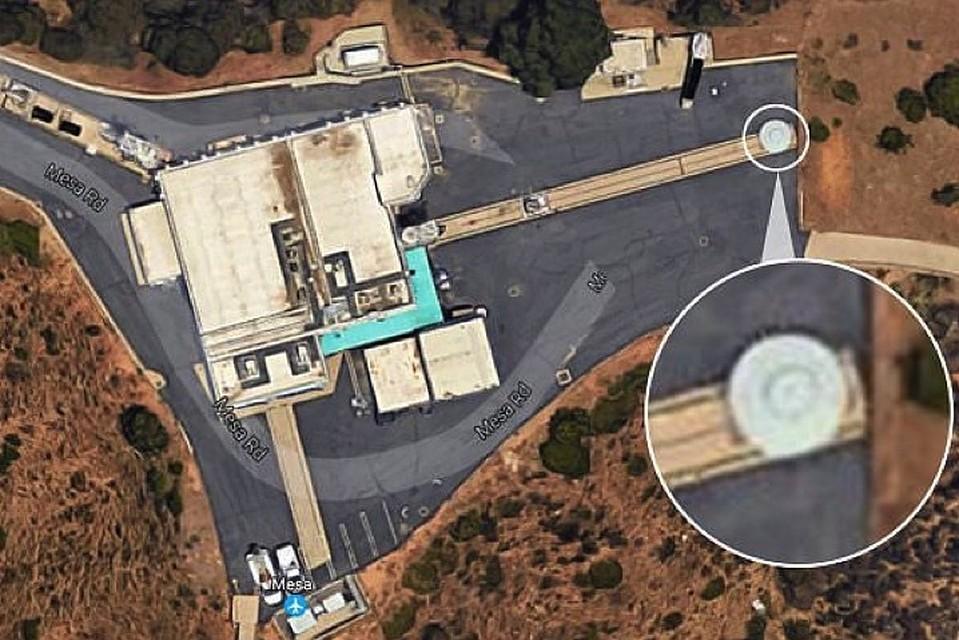 Летающая тарелка - собственность NASA