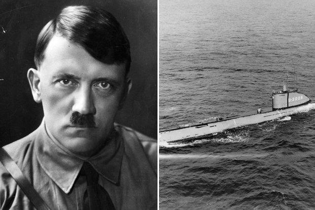 Подводная лодка Гитлера