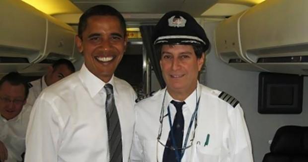 Пилот Барака Обамы встречался с НЛО!