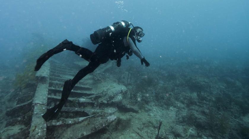 Римский корабль в Крыму