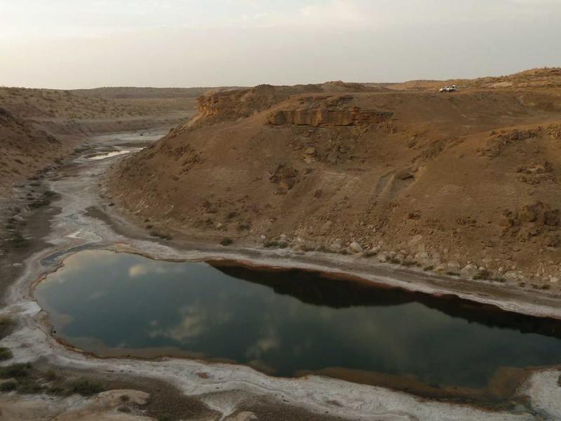 Главный Туркменский канал - судоходный путь через пустыню