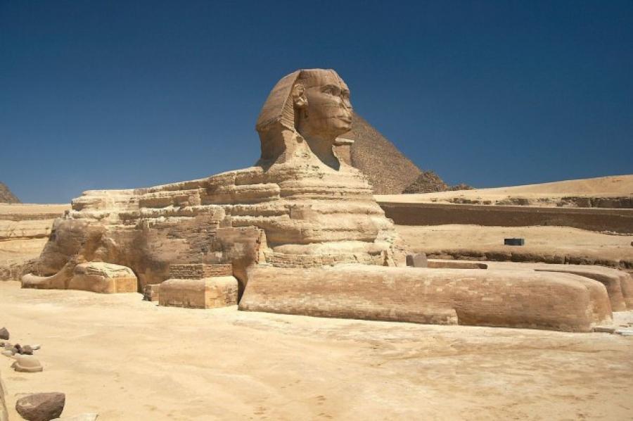 В Египте откопали нового Сфинкса