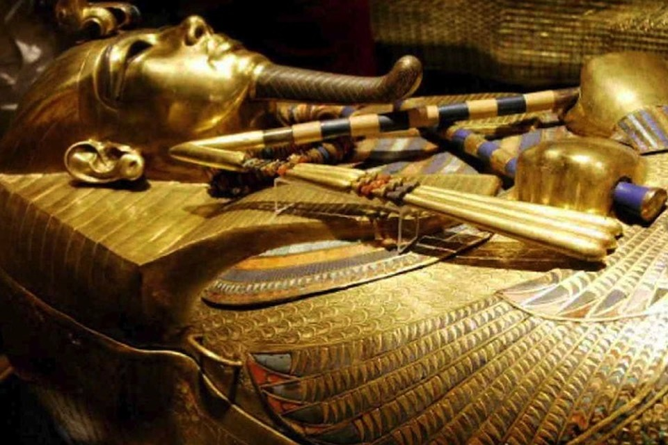 Тутанхамон - появление через тысячелетия
