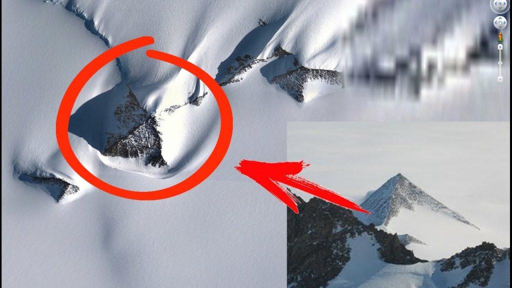 Google прячет Антарктиду