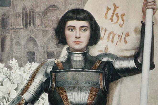 Жанна д'Арк - была ли сожжена Орлеанская дева?