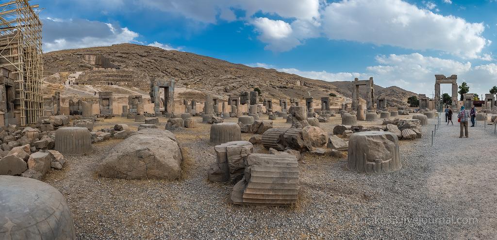 Уничтожение Персеполя - «столицы мира»