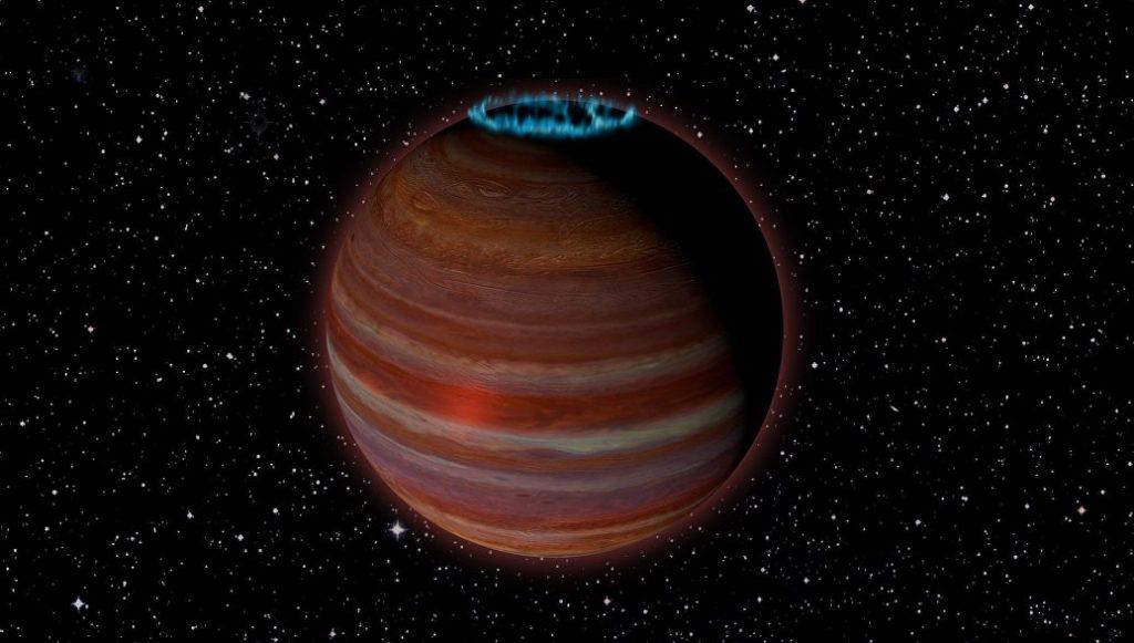 Астрономы нашли гигантскую планету-«магнит»