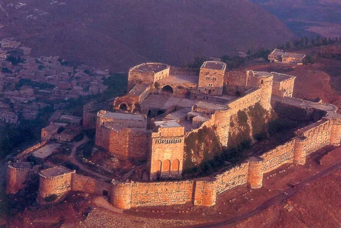 Крак де Шевалье - крепость рыцарей-крестоносцев