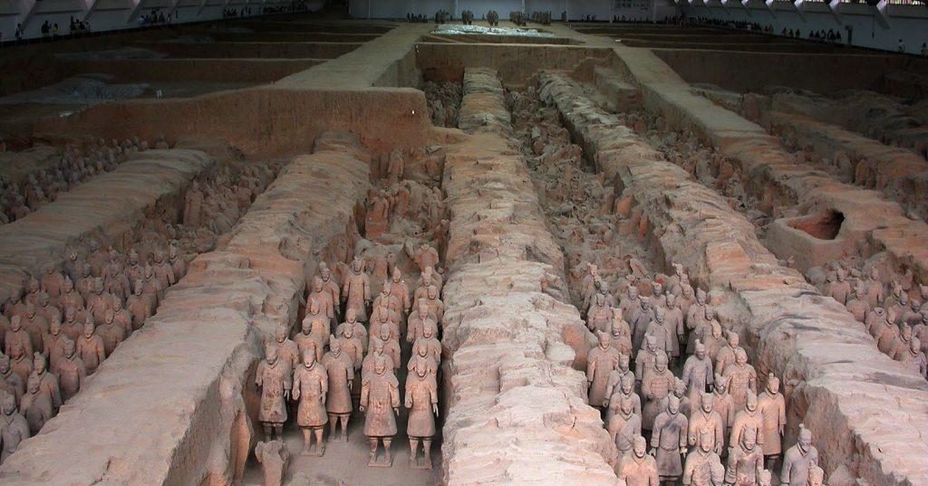 Подземная армия императора