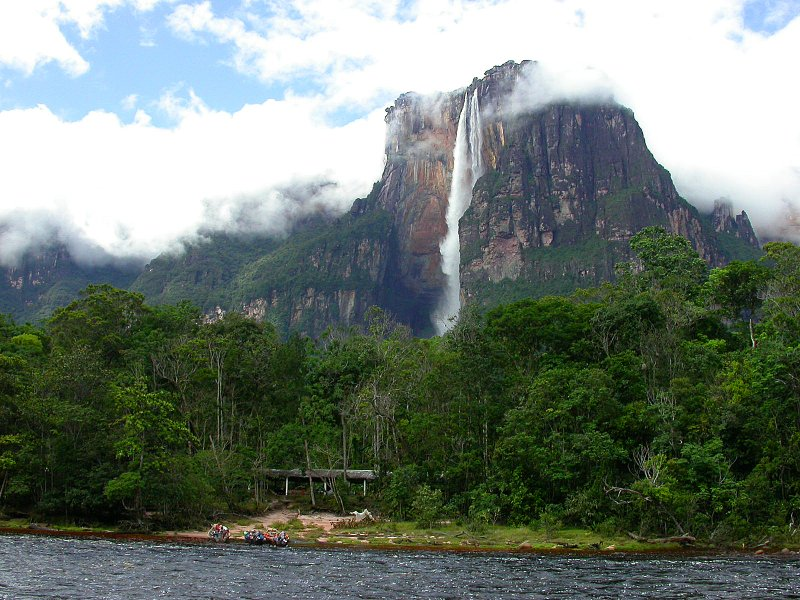 Анхель - заоблачный водопад