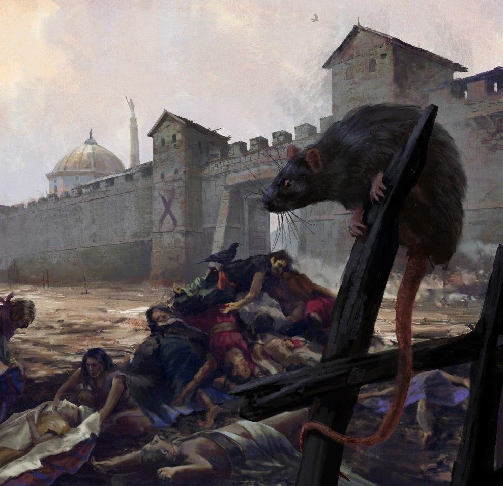 «Черная смерть» - опустошенная и выжившая Европа
