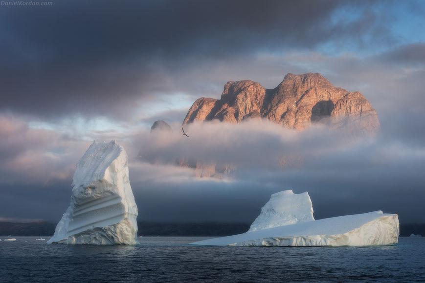 Поиски земель в Арктике - тающие острова