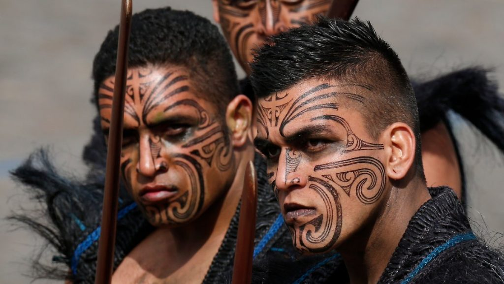 Маори - туземцы с Новой Зеландии