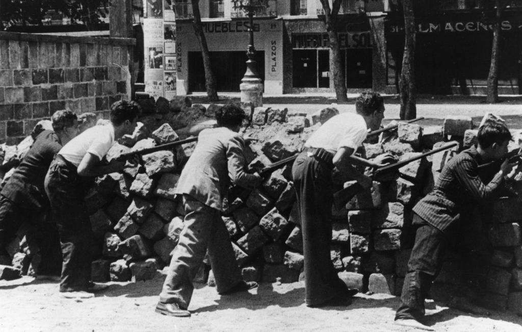 Гражданская война в Испании 1936–1939 годы