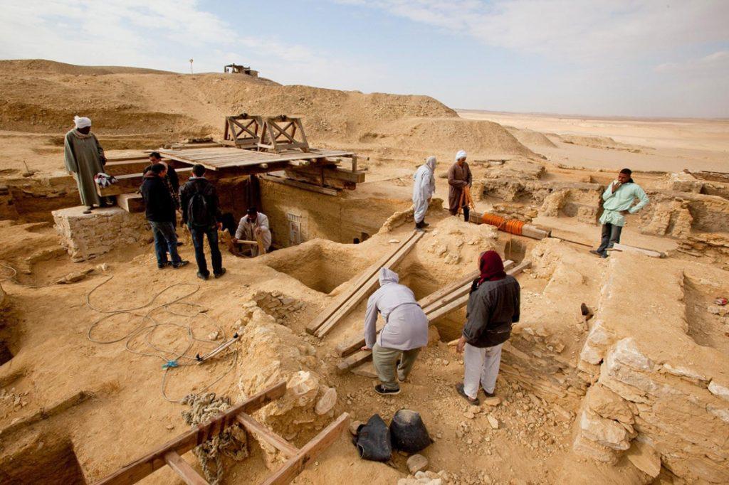 Кладбище времен Тутанхамона