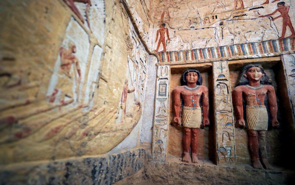 Археологи обнаружили в Египте могилу жреца-чистильщика