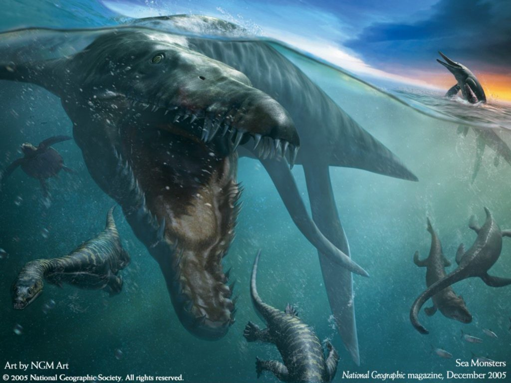 Морские чудовища - реальные свидетельства