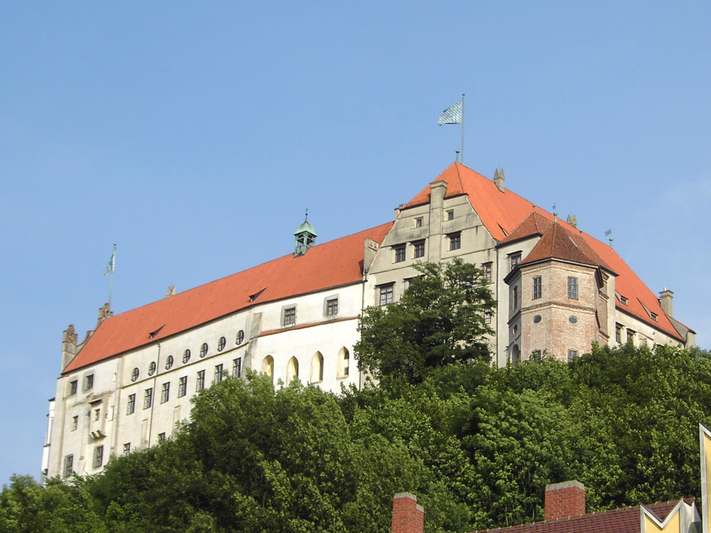 Замок Траусниц - сердце старой столицы Баварии