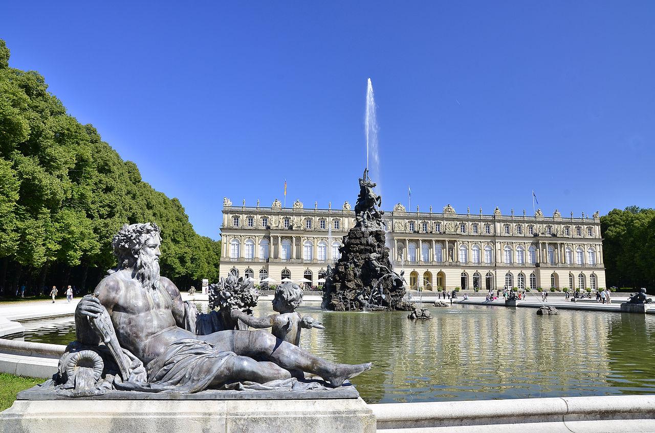 Замок Херренкимзее - «новый Версаль» для короля Людвига