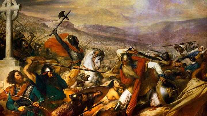 Битва при Пуатье. Удар под дых несокрушимому Халифату