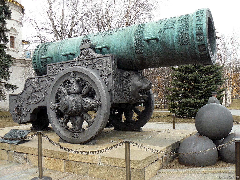 Царь-пушка - загадка Московского Кремля