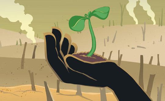 Еда - угроза человечеству. Производство продуктов питания меняет климат на планете