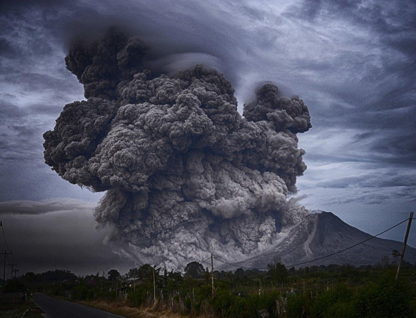 Вулканы изменили ландшафт Африки