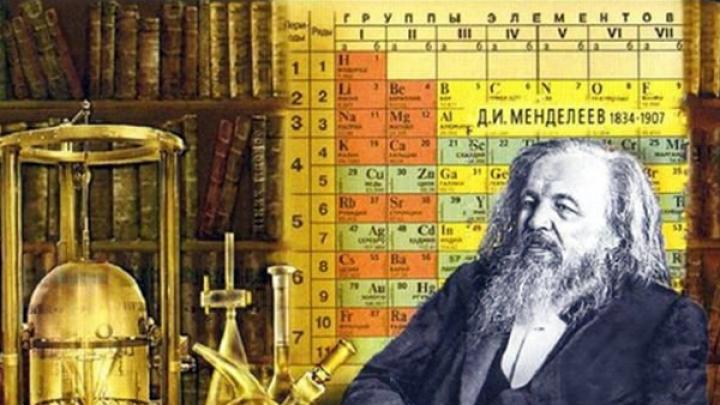 История открытия периодического закона химических элементов