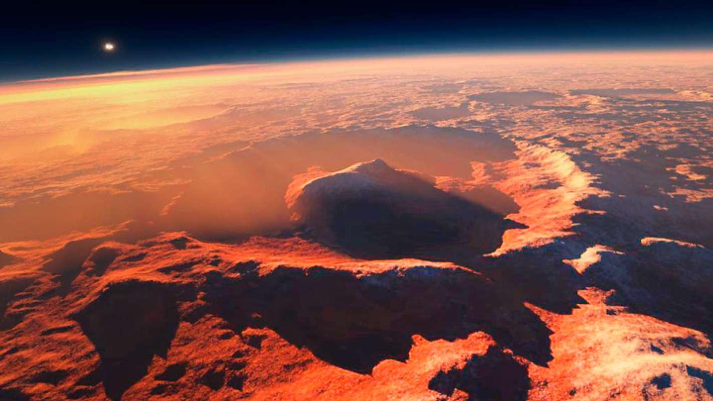Следы атомной войны на Марсе