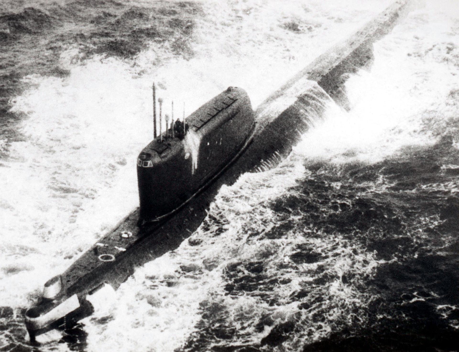 Ядерная катастрофа в северной Атлантике - авария на подводной лодке К-19