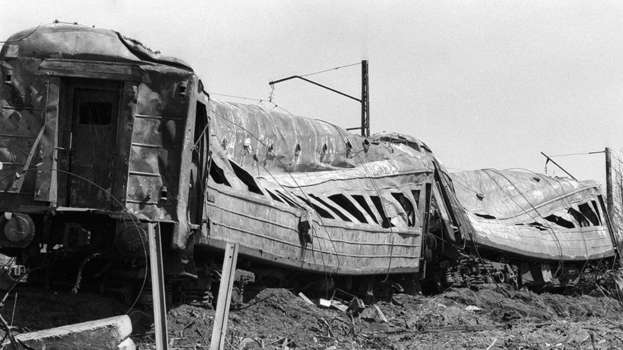 Крупнейшая железнодорожная катастрофа в истории СССР