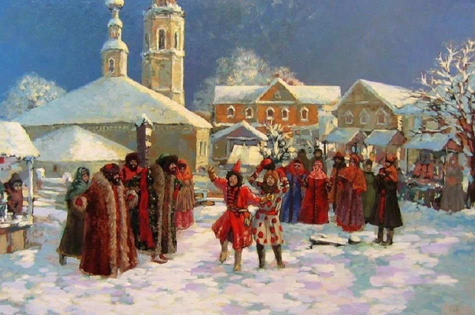 Празднование Рождества на Руси