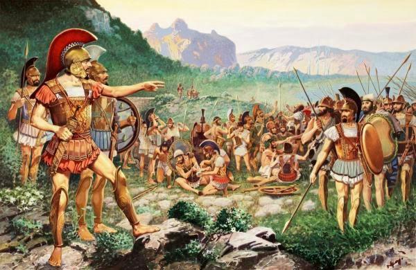 Анабасис - долгая дорога греков домой