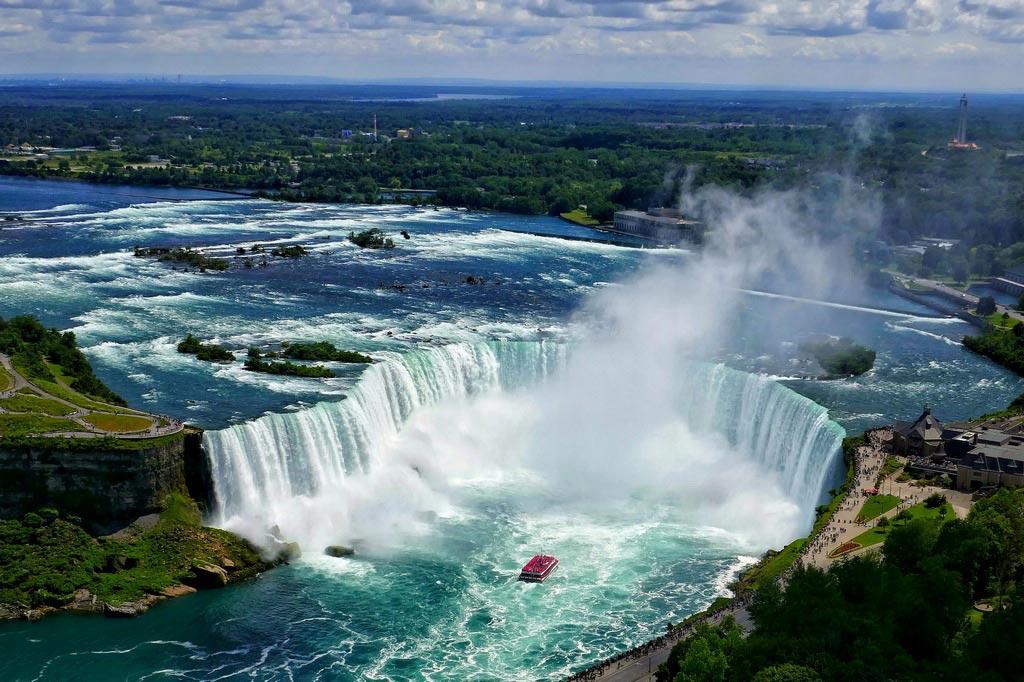 Ниагарский водопад и его экстремалы