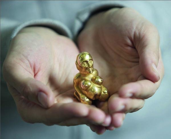 Золотая баба - древний загадочный идол Северного Урала