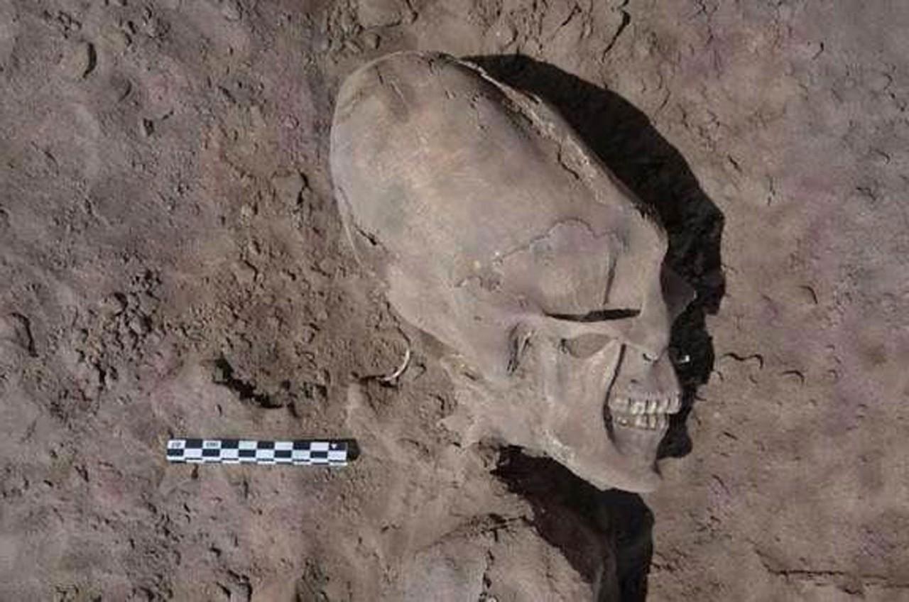 Вытянутые черепа Древнего Китая