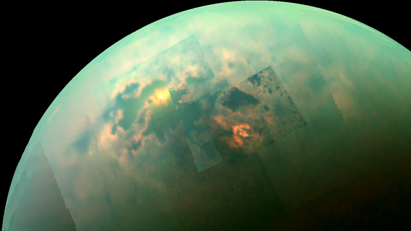 Поиск жизни на Титане