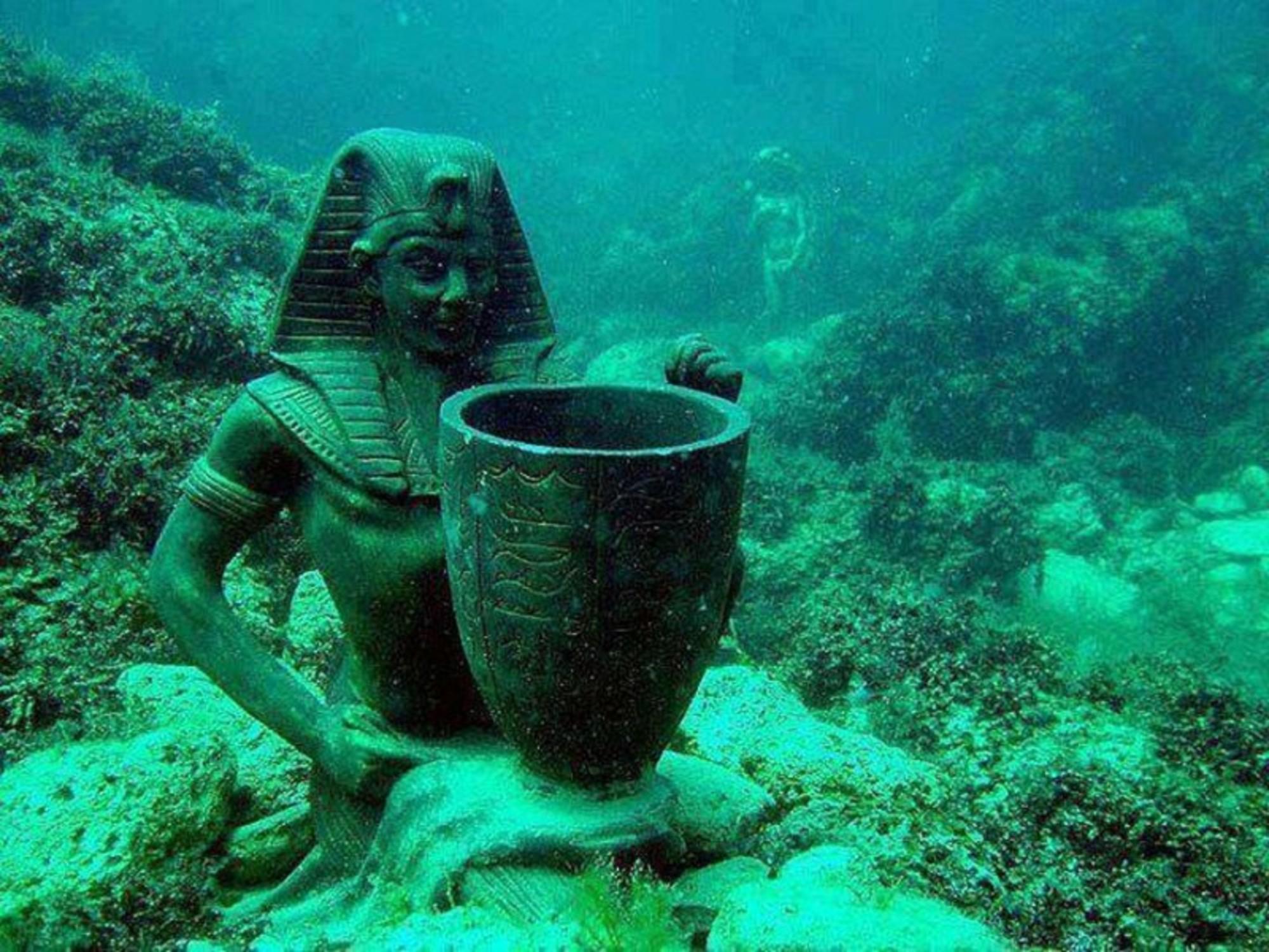 Храмы и сокровища на дне Нила