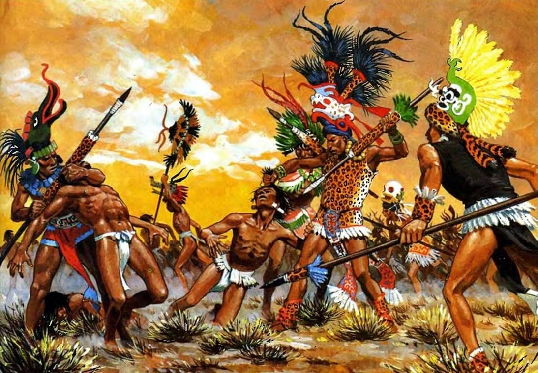 Доказательства жестокости майя