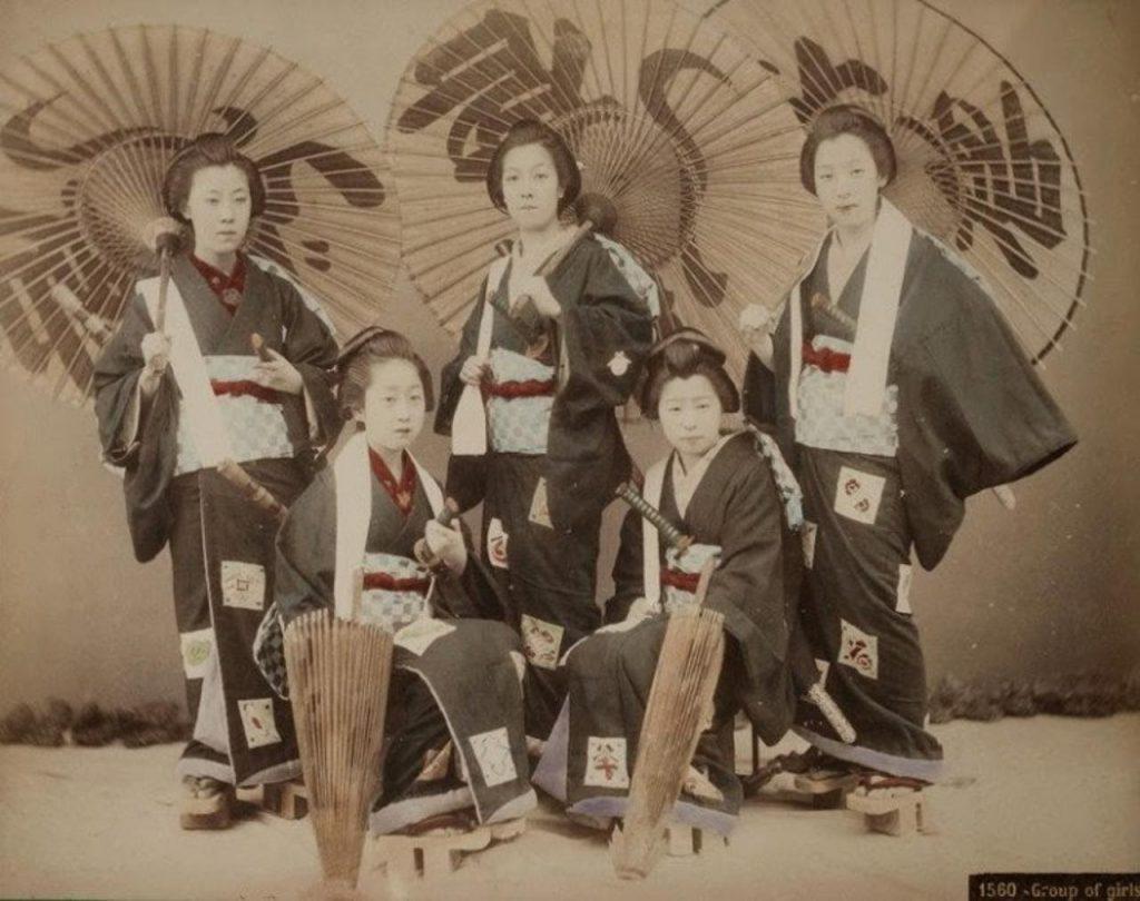 Мужчины-гейши и женщины-самураи - гендерное равенство средневековой Японии
