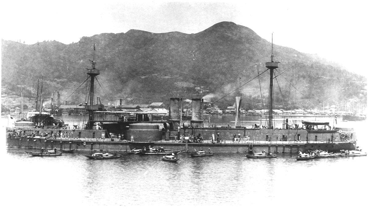 Установлено место гибели броненосца «Динъюань»
